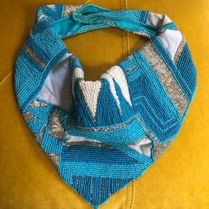 Beaded Scarf Necklace